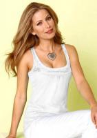 Modisches Shirt weiß-silber von Chillytime - Größe 44/46 - NEU
