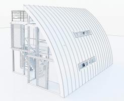 Foto 2 Modulhaus ar-che in Stahl-Glas-Konstruktion
