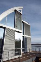 Foto 4 Modulhaus ar-che in Stahl-Glas-Konstruktion