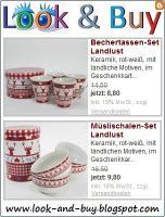Möbel, Porzellan, Deko-Artikel im Landhausstil - 50% Rabatt