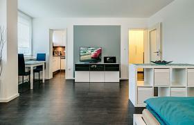 Möbliertes City-Appartement (Wohnung mit 1.0 Zimmern)