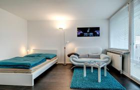 Foto 2 Möbliertes City-Appartement (Wohnung mit 1.0 Zimmern)