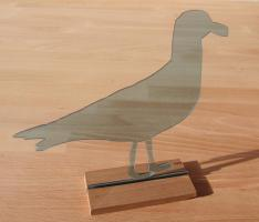 M�we Figur Dekoration Acrylglas