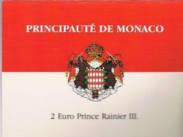 Monaco Original 2 Euro Kursmünze '' 2003 '' im Blister ! ! !
