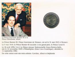 Foto 2 Monaco Original 2 Euro Kursmünze '' 2003 '' im Blister ! ! !