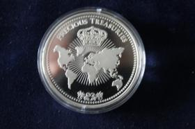 Monaco - Grace Kelly Silbermünze - nur 18,00 EUR
