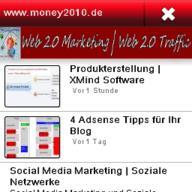 Money2010.de App ist Online