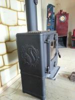 Foto 3 Morsoe 1442 Gussofen, 3 Heizperioden, 5 KW, MIT Eichhörnchen