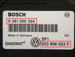 Foto 4 Motor-Steuergeraet VW 023906022F; VW T4 - 2,5Ltr. Benziner AAF