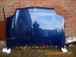 Foto 3 Motorhaube + Stoßstange inkl.Nebens. + Lampen für Clio Bj 98-01 Blaumetallic