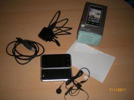 Motorola Backflip Handy NEU, mit viel Zubehör
