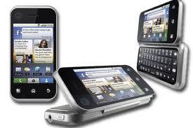 Motorola Backflip silver '' NEU ''