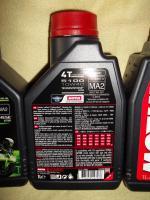 Motorradöl Supersport 3x MOTUL 5100 4T ESTER teilsynthetisch 10W40 MA2 4-Takt Motoröl