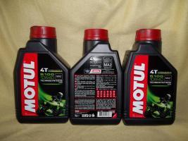 Foto 3 Motorradöl Supersport 3x MOTUL 5100 4T ESTER teilsynthetisch 10W40 MA2 4-Takt Motoröl