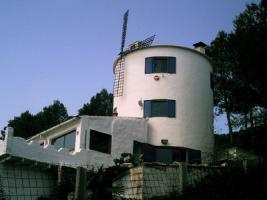 Mühle in La Vall de Ebo an der Costa Blanca