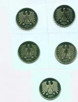 Münzen ab 1873 bis 2001 1PF bis 5 DM