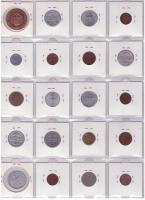 Foto 9 Münzen  alte Banknoten und Briefmarken