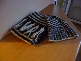 Mütze und Schal neuwertig die Länge des Schals beträgt  215 cm + 12 cm Fransen, Breite 21 cm. Ich bin Privatverkäufer. Die Mütze und der Schal werden verkauft wie gesehen. Eine Haftung für Qualität und Güte wird nicht übernommen.