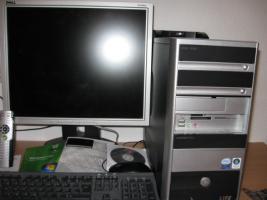 Foto 3 Multi Media PC, Flachbildschirm 19'' - Fernbedienung + Zubehör