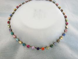 Multicolour Halskette, orginal Swarovski Elemente