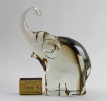 Murano Glas Figur Elefant Alfredo Barbini signiert TOP