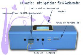 Music Angel Stereo Mini Lautsprecher 6 in 1