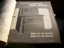 Musikbox Rock-Ola   Arbeitsplan