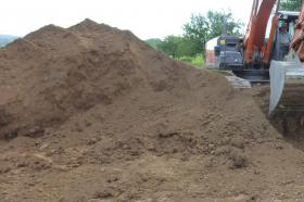 Mutterboden ca. 550 m³