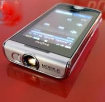 Foto 4 **NAGEL NEUES **BUSSINES Handy** Samsung. I7410 Smartphone Handy , mit integrierten Beamer***WELTNeuheit***