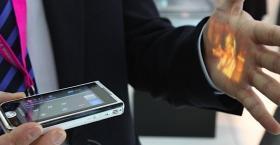 Foto 6 **NAGEL NEUES **BUSSINES Handy** Samsung. I7410 Smartphone Handy , mit integrierten Beamer***WELTNeuheit***