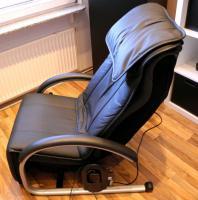 NAIS Massage Lounger EP790 (Leder, schwarz), wie neu, TOP gepflegt
