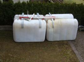 NAU Heizölbatterietank Nylon 4x2000 Liter + Froeling Blaubrenner passend zu Bicitherm 25 und Primatherm 27 Nr. 13820725