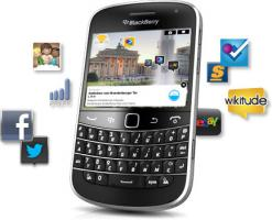 Foto 5 NEU BlackBerry Bold 9900+Tasche (keinSIMlock)