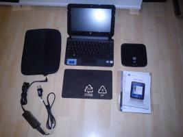 NEU! HP mini Netbook 110-3735dx + DVD Laufwerk ext. + Tasche