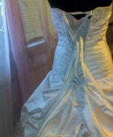 Foto 3 NEU Hochzeitkleid Gr. 32-38 + Extras