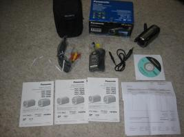 NEU Panasonic HDC-TM60 FULL HD -1080i , Tasche,  Rechnung, Garantie