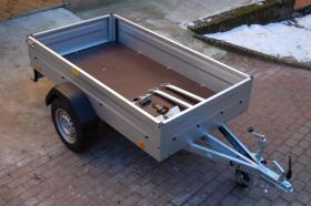 NEU Pkw Anhänger 750 Kg mit 2x Stützen, 1x Stützrad und Unterlegkeilen NEU