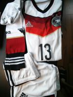NEU Set MÜLLER Thomas + SHIRT + HOSE + STUTZEN WM DFB 2014 Trikot