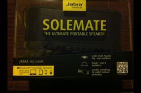 NEU** mobiler Bluetooth Lautsprecher Jabra Solemate