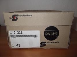 NEUE ''STEITZ SECURA'' C211 ARBEITSSCHUHE Gr. 43 (9) UNGETRAGEN!!!