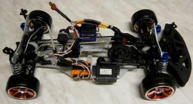 Foto 13 NEUES ELEKTRO Super Show Drift Car RTR BRUSHLESS 1/10er 4WD 2,4GHz Fernst.Lipo Akku, Lipo Lader -Wlan LED System