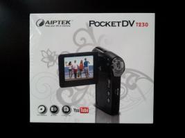 !NEU! - Aiptek T230 Camcorder (12MP HD, Schwarz)