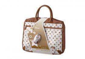 NEU !!! Notebook Designer Tasche 15 -16 Zoll mit optische Maus!