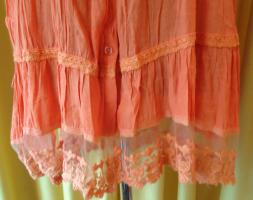 Foto 2 -NEU- Super Edel!!!!orangeTunika mit schöner Spitze, top Farbe für den Frühling