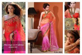 NEW Collection Modernes Bollywood actress Sari(Saree)