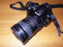 NIkon D5000 mit 18-200mm Objektiv