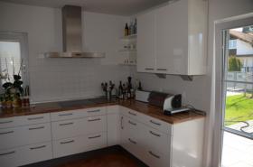Foto 3 NOBILIA Einbauküche weiß hochglanz inkl. Siemens Einbaugeräten