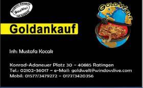 NRW Goldankauf Goldwelt