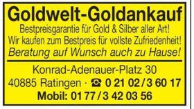 Foto 3 NRW Goldankauf Goldwelt