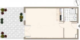 Foto 2 Nachmieter gesucht, geräumige 1 Zimmerwohnung in Bad Zwischenahn